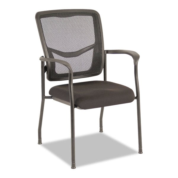 Alera EX Series Black Mesh Guest Chair