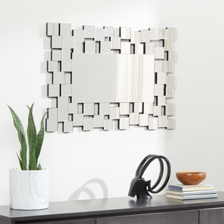 Abbyson Aiden Rectangle Wall Mirror