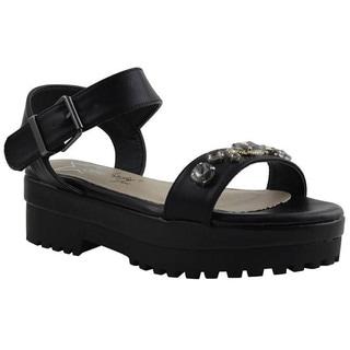 Women's 'Ofelia' Jeweled Platform Sandals