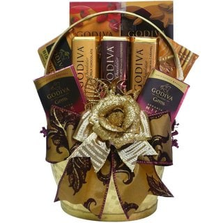 Art of Appreciation Godiva Gold Premium Chocolate Gift Basket
