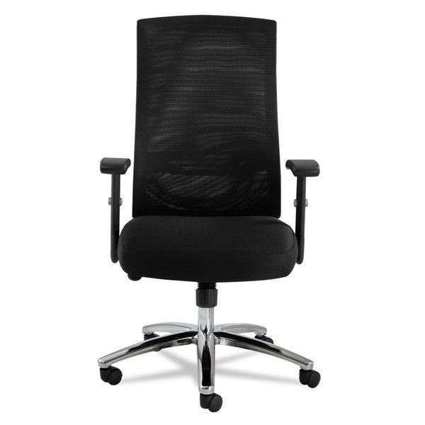 Alera EY Series Black Mesh Multifunction Chair