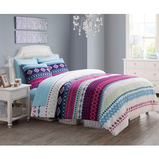VCNY Makayla Reversible 9-piece Bed in a Bag Set