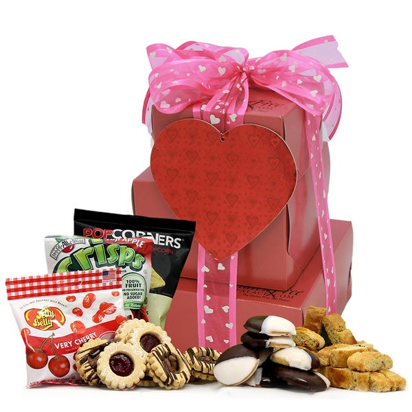 My Sweetheart! Large 2-pound Gluten Free Gift Tower
