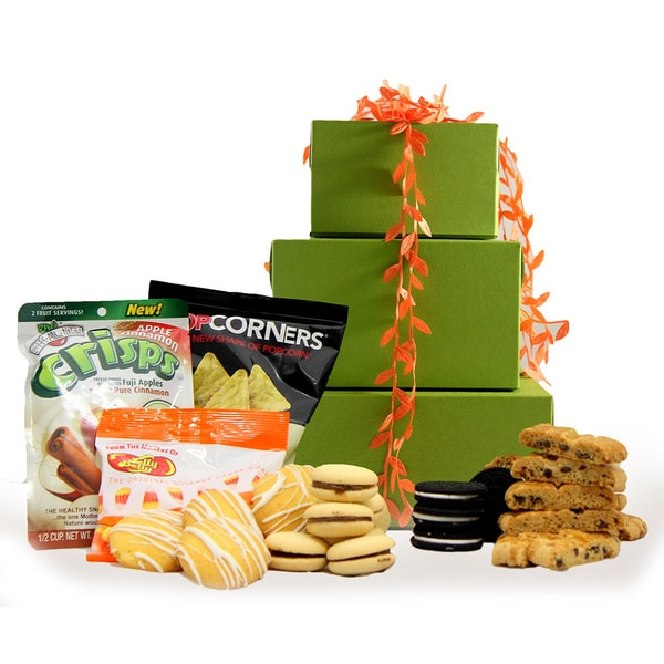 Happy Thanksgiving! Gluten Free Gift Tower, Large, 2 pounds