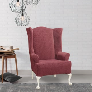 Sure Fit Stretch Ava Wing Chair Slipcover