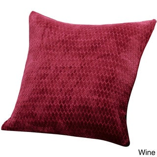 Sure Fit Stretch Royal Diamond 18-inch Decorative Pillow