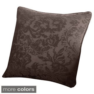 Sure Fit Stretch Jacquard Damask 18-inch Decorative Pillow