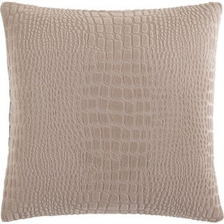 Sure Fit Stretch Crocodile 18-inch Decorative Pillow (Shell only, no fill)