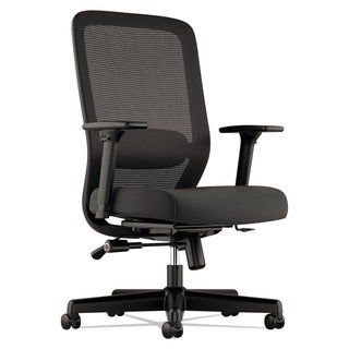 basyx VL721 Series Black Mesh Executive Chair, Mesh Back, 100 Percent Polyester Seat
