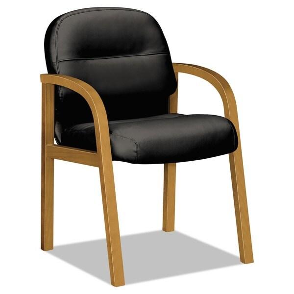 HON 2190 Pillow-Soft Wood Series Guest Arm Chair
