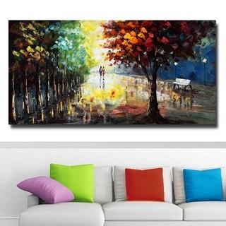 Design Art 'Landscape Forest Colors of Nature' Canvas Art Print