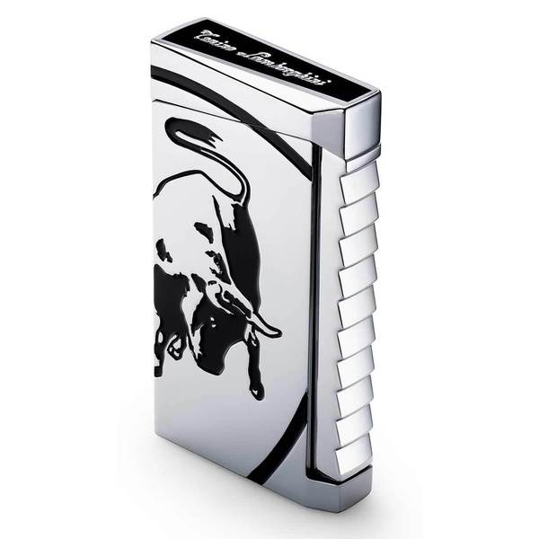 Tonino Lamborghini Il Toro Torch Flame Lighter - Black (Ships Degassed)
