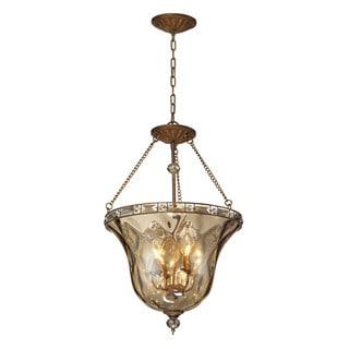Elk Lighting Cheltham 4-Light Pendant In Mocha