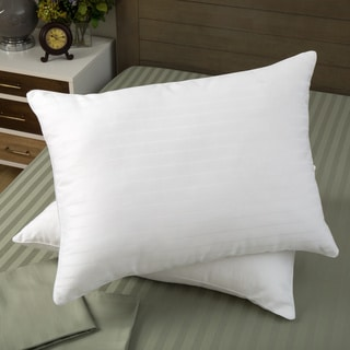 Dream Essence 400 Thread Count Supima Cotton Memory Fiber Blend Pillow (Set of 2)