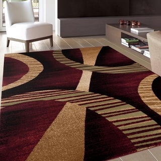Modern Contemporary Soft Multi Area Rug (7'10 x 10'2)