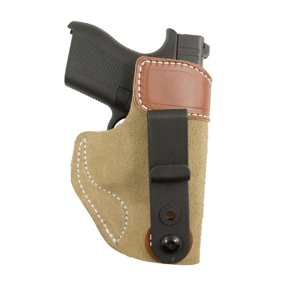 DeSantis Sof-Tuck Glock 42 Holster Brown/ Tan Right Hand