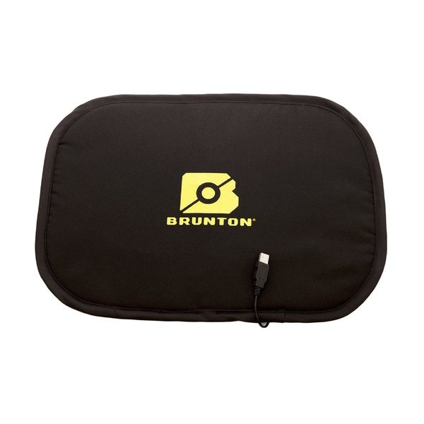 Brunton Seat Pad with USB Powered Heat Black