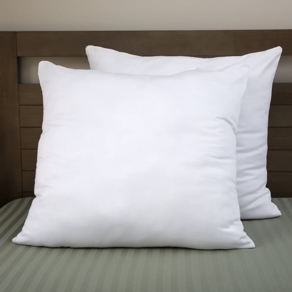 Moments Cotton Overfilled 30 x 30 Euro Square Pillow (Set of 2)