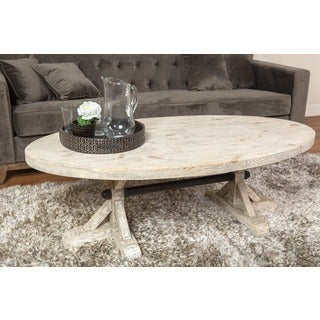 Kosas Collections Palle Oval Coffee Table
