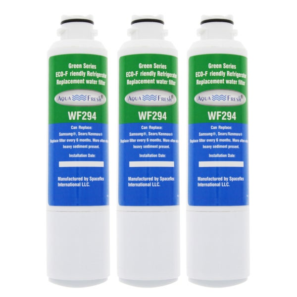 AquaFresh WF294 Samsung DA29-00020B Comparable Refrigerator Water Filter (3 Pack)