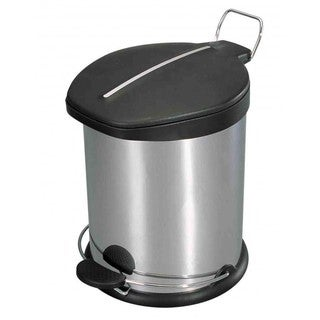 Home Basics Stainless Steel 12-liter Waste Can