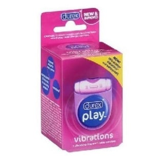 Durex Play Vibrations Vibrating Ring/ Latex Condom (Pack of 1)