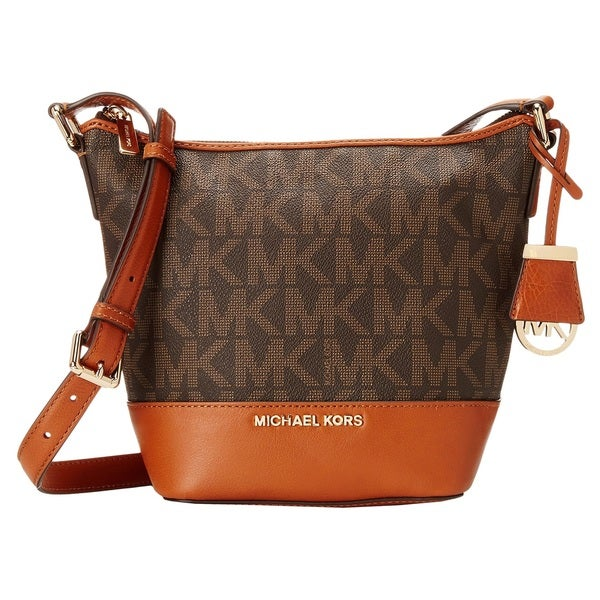 MICHAEL Michael Kors Bedford Small Messenger - Brown