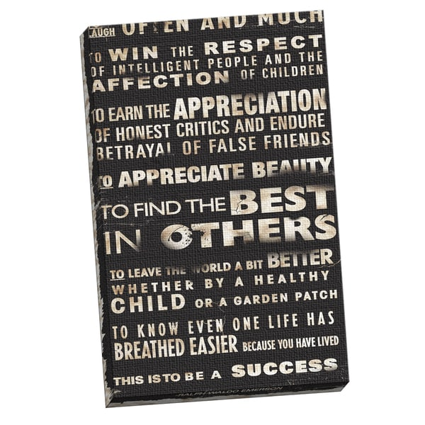 IHD Studio 'Transit Success' Framed Canvas Wall Art