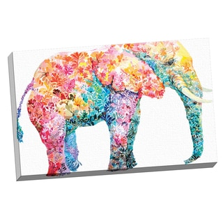 Portfolio Canvas Decor Maria Varela 'Elephant Gum' Framed Canvas Wall Art