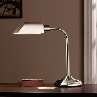 Upton Home OttLite Brushed Nickel Hartley Task Table Lamp