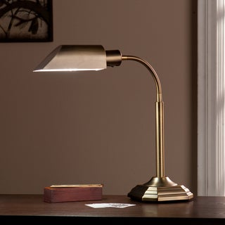 Harper Blvd OttLite Honey Brass Hartley Task Table Lamp