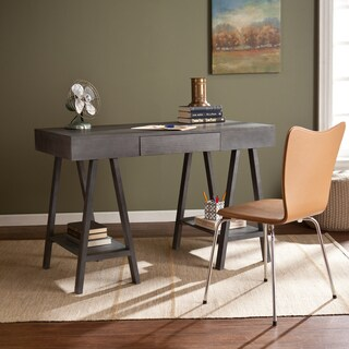 Upton Home Gray Wash Arielle Desk