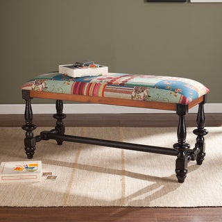 Upton Home Arabella Patchwork Bench