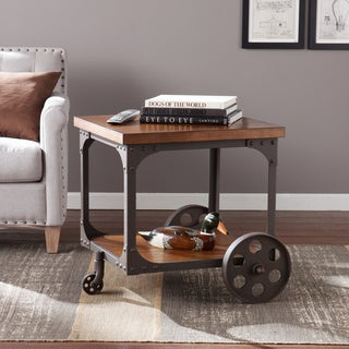 Upton Home Brady Industrial Accent Table