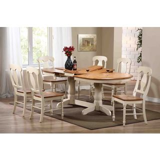 Napoleon Caramel Biscotti Oval 7-piece Dining Set