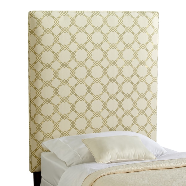 Humble + Haute Burton Light Green Upholstered Headboard - Twin Size