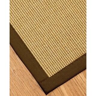 Handcrafted Monterrey Sisal Sage/ Khaki Rug (9' x 12')