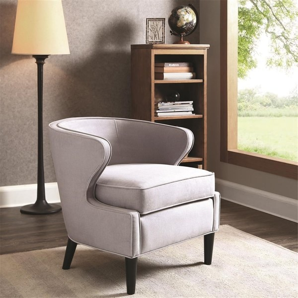 Lucca Grey Low Profile Chair