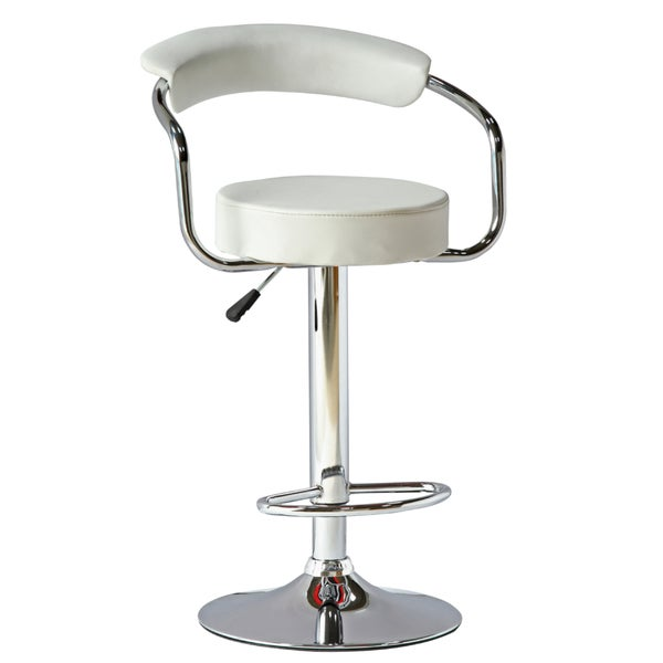 MaxMod Smart White Barstool