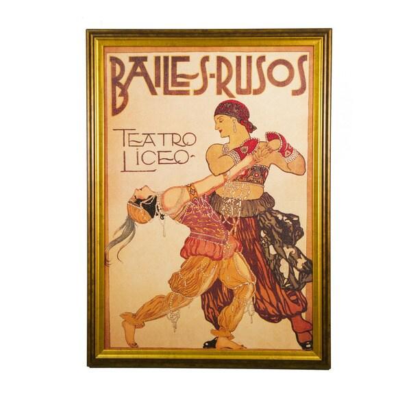 Framed Art - The Dance, Bailes-Rusos