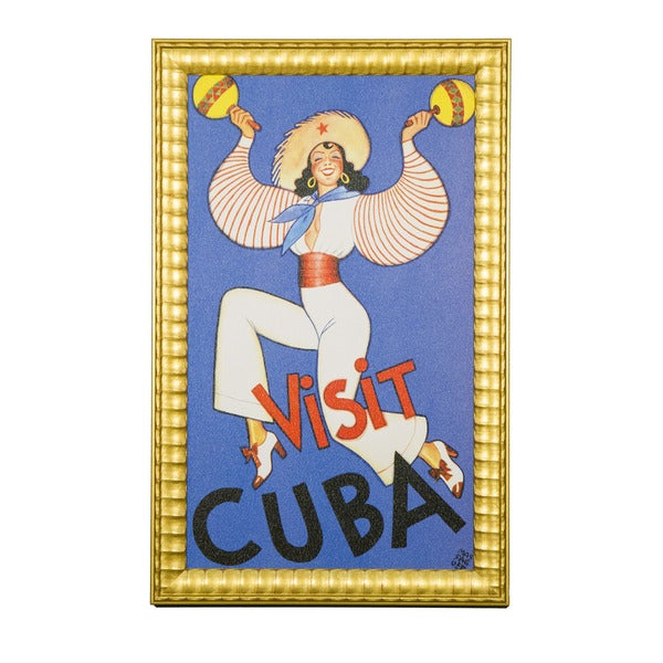 Framed Art - Cultural Authenticity, Visit Cuba