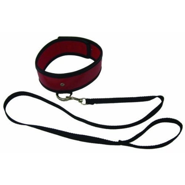SportSheets Sex & Mischief Red Leash & Collar