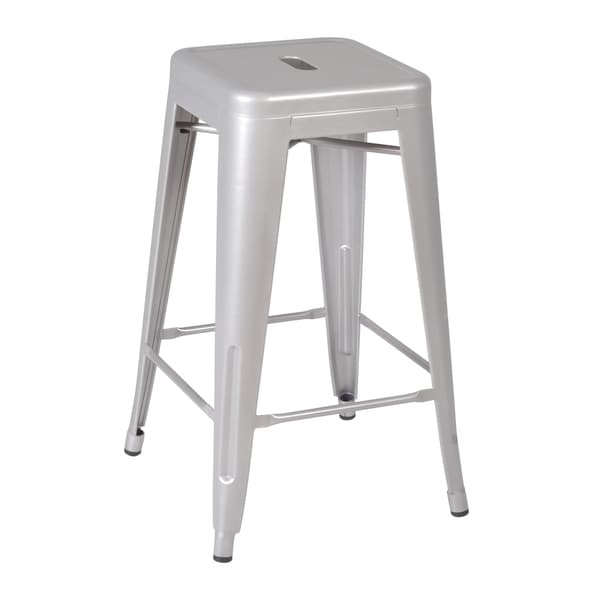 Rivet Stack Stool, Grey