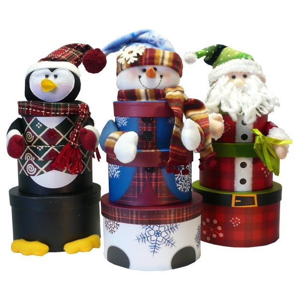 Christmas Holiday Gift Tower