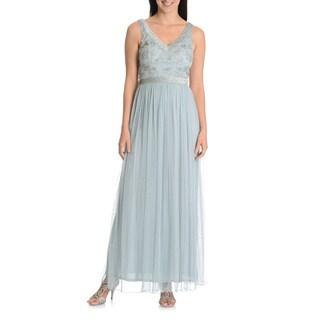 Patra Women's Beaded Bodice Evening Gown