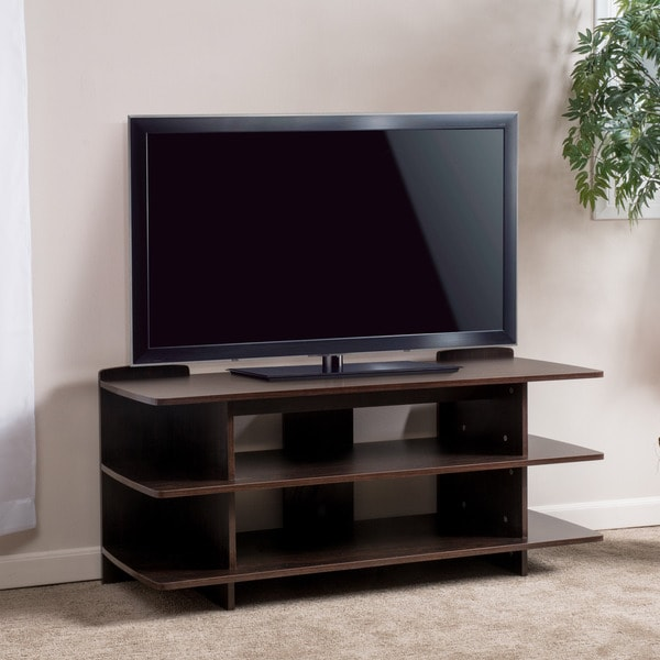 Christopher Knight Home Birchfield Three-Tier Wood TV Console Stand
