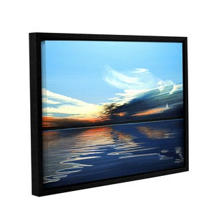 ArtWall Ken Kirsh 'Quiet Reflections' Gallery-wrapped Floater-framed Canvas