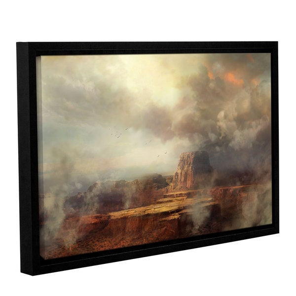 ArtWall Philip Straub 'Before The Rain' Gallery-wrapped Floater-framed Canvas