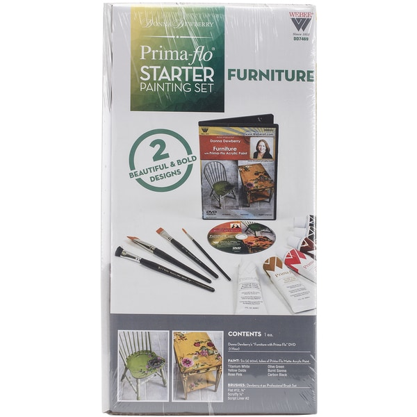 Donna Dewberry Starter Paint Set Furniture In Prima Flow