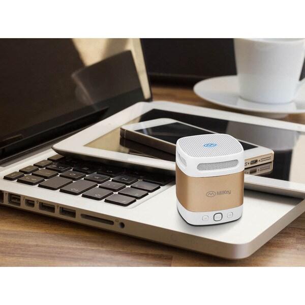 MiiKey MiiBox Mini Bluetooth 4.0 NFC Portable Speaker with Built-in Microphone